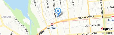 Специализированное управление Гордорстрой №2 на карте Алматы