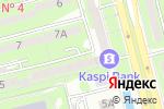 Схема проезда до компании Мастерица в Алматы