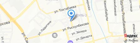 Нотариус Данчева Г.П. на карте Алматы