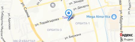 Sentinel на карте Алматы