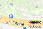 Схема проезда до компании Фабрика звезд Анжелики Казабеевой в Алматы