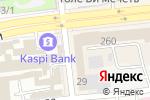 Схема проезда до компании PDV в Алматы