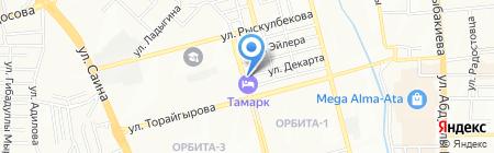 Жанат на карте Алматы