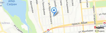 Vector-FM на карте Алматы