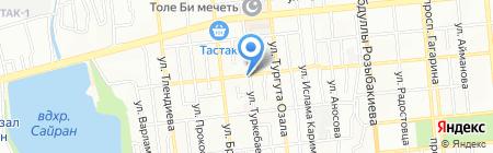 Типография на карте Алматы