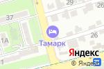 Схема проезда до компании TAMARK в Алматы
