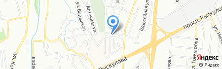 Транко на карте Алматы