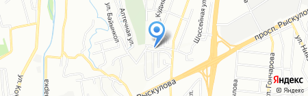 Аян Авто на карте Алматы