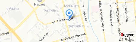 Vita-Vent на карте Алматы