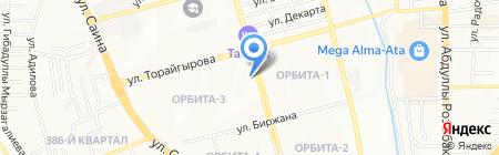 Ева на карте Алматы