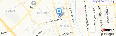 АРАЙ на карте Алматы