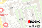 Схема проезда до компании Миньон в Алматы
