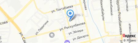 Modern Inter Comunications на карте Алматы