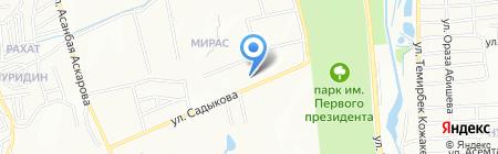 FMC на карте Алматы