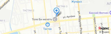 Саумед на карте Алматы