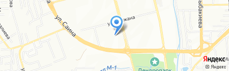 Артус на карте Алматы