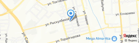 Общеобразовательная школа №37 на карте Алматы