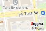 Схема проезда до компании АБР-Ломбард, ТОО в Алматы