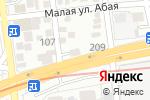 Схема проезда до компании Мебель в Алматы