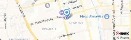 Мастер Пластик на карте Алматы