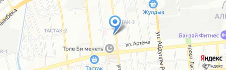Диамед Плюс на карте Алматы