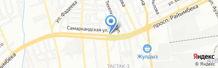 SCT Servise на карте Алматы