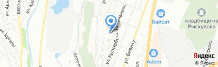 Общеобразовательная школа №151 на карте Алматы