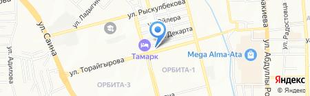 ГиК на карте Алматы
