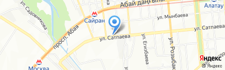 Сапфир на карте Алматы