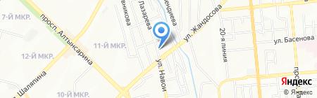 Ай-Ал-Ай на карте Алматы
