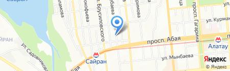 Rose Rosa Kazakhstan на карте Алматы