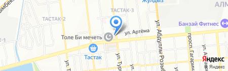 Малика супермаркет на карте Алматы