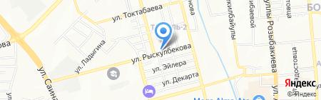 Нотариус Мосолова С.Н. на карте Алматы