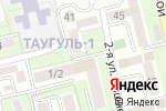 Схема проезда до компании Минари в Алматы