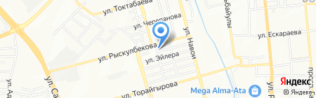 Асель 777 на карте Алматы