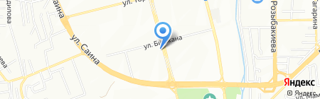 Орбита-Дент на карте Алматы