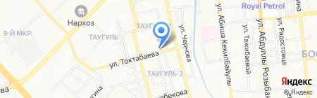Багей на карте Алматы