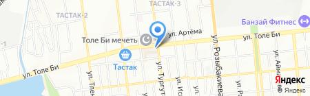Асыл на карте Алматы