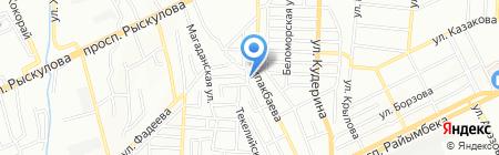 Всенародная церковь Евангельских христиан-баптистов на карте Алматы
