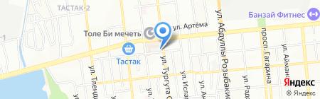 АБР-Ломбард ТОО на карте Алматы