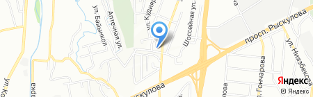 Гермес и С на карте Алматы