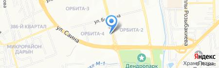 Макай на карте Алматы