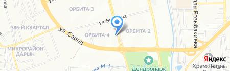 СнабАльянс на карте Алматы