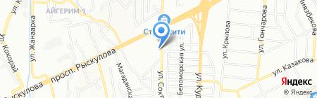 Филиал Механизированных Работ №4 на карте Алматы