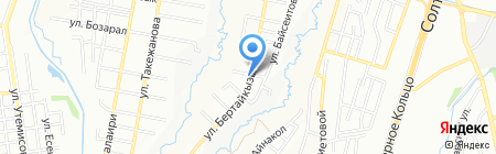 Колсай Строй на карте Алматы