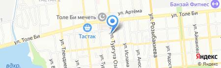 Тарым на карте Алматы