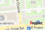 Схема проезда до компании Ломбард МИНИКРЕДИТ, ТОО в Алматы
