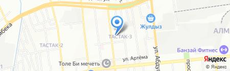 Общеобразовательная школа №58 на карте Алматы