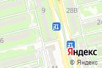 Схема проезда до компании Pizza ONE в Алматы