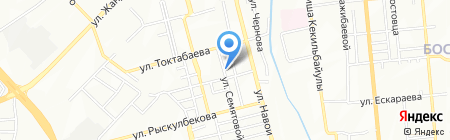 Адал на карте Алматы
